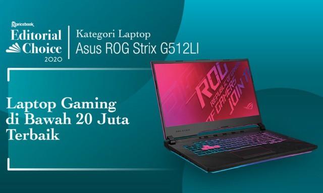 Laptop Gaming Dibawah 20 Juta Terbaik : ROG Strix G15 G512L
