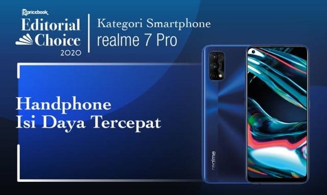 Hp dengan Isi Daya Tercepat : Realme 7 Pro