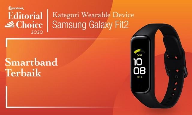 Smartband Terbaik: Samsung Galaxy Fit 2