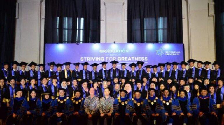 Jurusan Favorit yang ada di Universitas Sampoerna, wisuda Sampoerna University